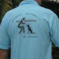 t-shirt avec logo Ecole du chiot Ortega